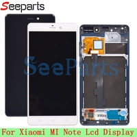 For Xiaomi Note LCD Display Digitizer Touch Screen Assembly Black Smartphone for xiaomi Mi Note lcd With Frame + Tools