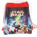 1 unids guerras dos Capitán Niños mochila mochila kids birthday party Favor, Mochila escolar, niños de la escuela backpackA7410