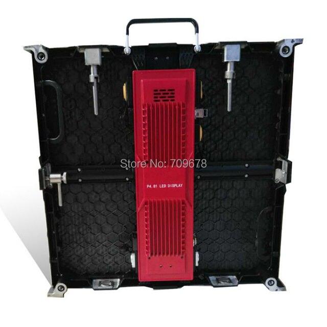 Крытый P4.81mm 500x500 мм Прокат литья Алюминия SMD RGB СВЕТОДИОДНЫЙ Экран Шкаф (P3.91/P5.95/P6.25 доступны)