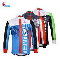 ARSUXEO Men Bicycle Jacket Reflective Ultralight Long Sleeve Cycling Jersey Bike Bicycle Mountain Jersey Clothing Shirts