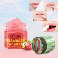 Strawberry Cucumber Soft Moisturizing Exfoliating Lip Scrub