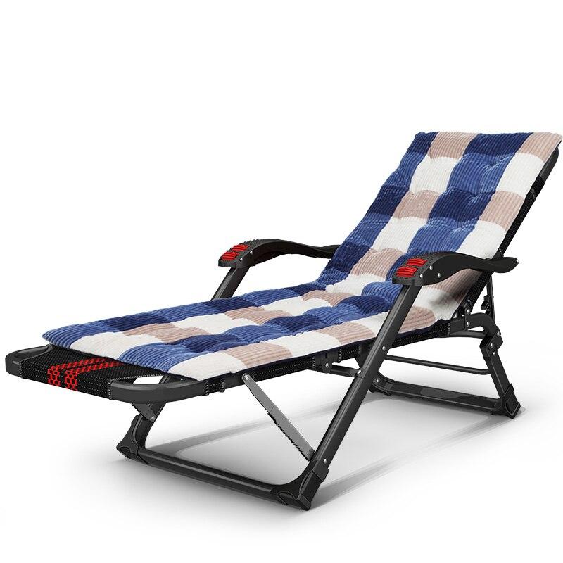Folding Reclining Chair Lazy Deck Chair Outdoor Garden