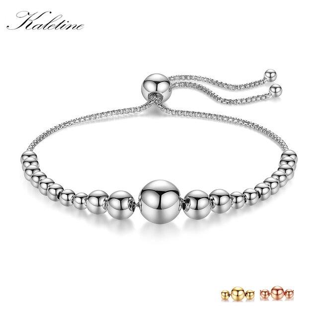 0871348e7161 KALETINE pulseras para las mujeres de la joyería de la plata esterlina 925  pulsera de los ...