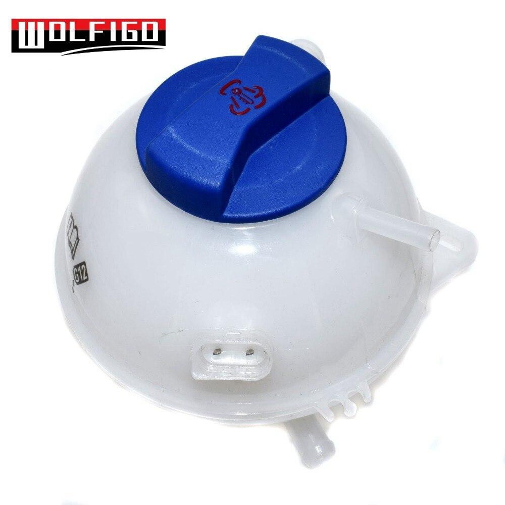 WOLFIGO liquide de Refroidissement Réservoir Réservoir D'expansion et Chapeau Kit Pour VW Jetta Golf AUD 1J0121403B, 1J0121321B Nouveau