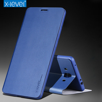 X Level Ultra Thin PU Leather Cover Huawei Mate 10 Case Flip Luxury Book Fashion Kickstand