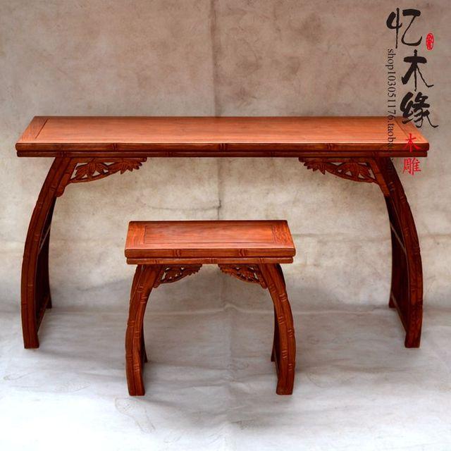 Schreibtischplatte holz  Ming und Qing Dynastie klassische mahagoni holz Chinesischen stil ...