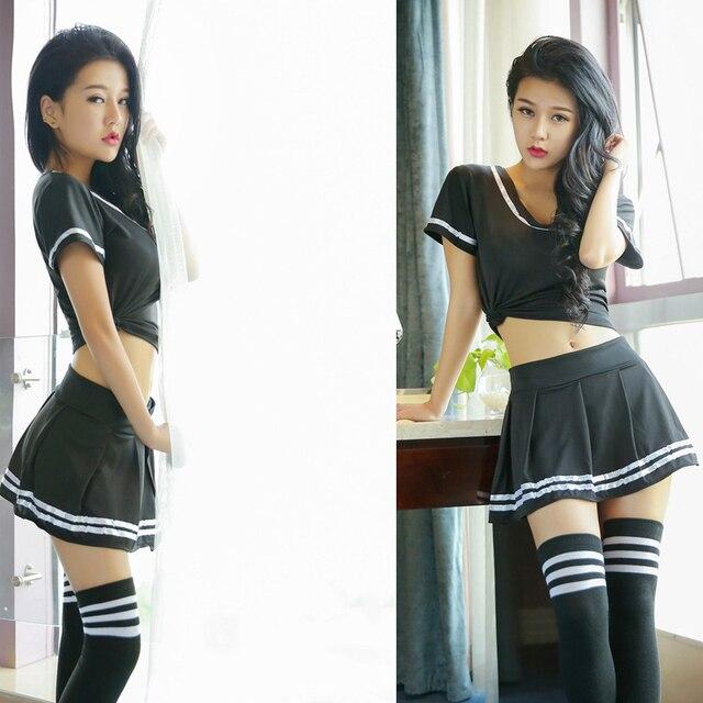 Classic School Girl Costume Dirndl Korean Japanese Disfraz Sexy Cosplay School Uniform