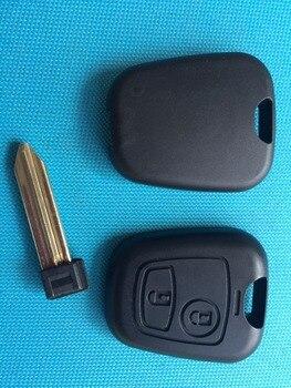 1 шт. Новая замена корпуса заготовки для Peugeot Partner Expert Boxer 2 кнопки Брелок чехол с необработанным лезвием без логотипа автомобильные аксессуары|shell replacement|key shell 2 buttonshell case fob | АлиЭкспресс