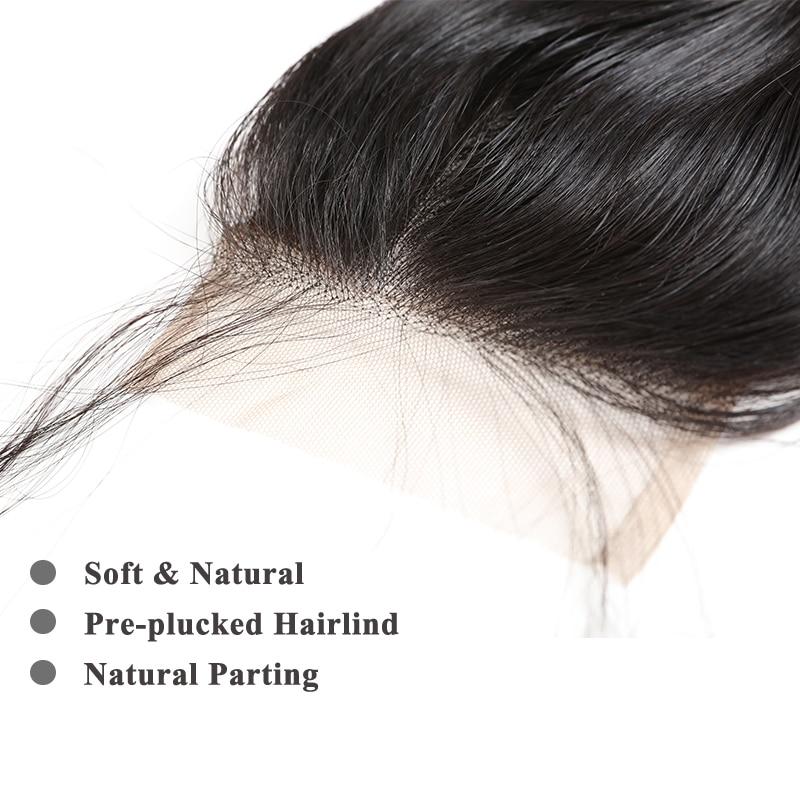ალის დედოფალი თმის - ადამიანის თმის (შავი) - ფოტო 4