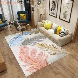 Nórdico tapetes de mármore tapete piso moderno 3d impresso sala estar quarto grande criança escalada tapetes menina crianças mesa café