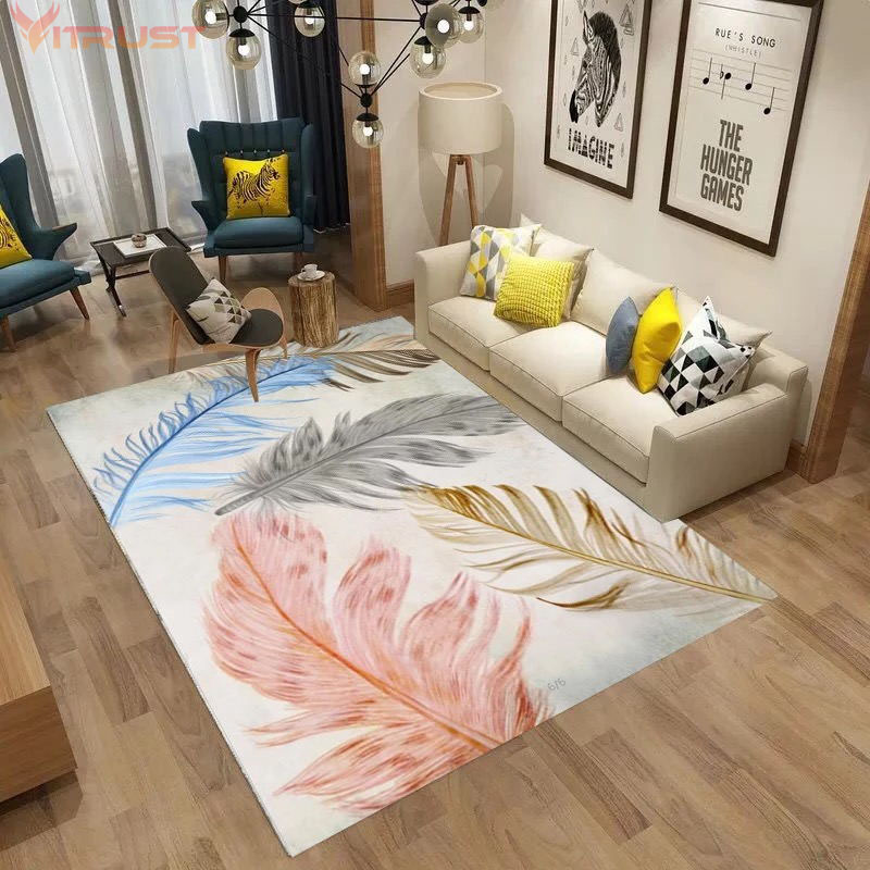 Nordic Carpets Marble Carpet Rug Modern Floor 3D Printed Living Room Bedroom Big Child Climbing Mats Girl Kids Coffee Table Rugs
