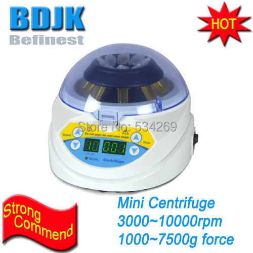 MINI-10K+ 3000~10000rpm Adjustable Mini Lab Centrifuge Machine for 2/1.5/0.5/0.2ml Centrifugal Tube Lab Equipment 80 1 electric experimental centrifuge medical lab centrifuge laboratory lab supplies medical practice 4000 rpm 20 ml x 6