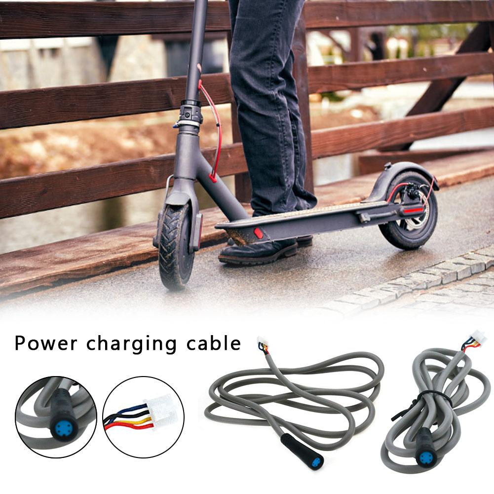 Image 2 - New High quality Charging Cable For Xiaomi M365 Electric Scooter Power Adapter Controller Cable Battery Charger Cable Plug-in Skate Board from Sports & Entertainment
