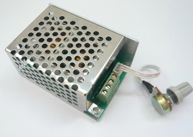 Freeshipping Dc motor speed regulator DC motor controller DC5V - DC40V 0.1W - 260W 6.6A 10 50v 100a 5000w reversible dc motor speed controller pwm control soft start high quality