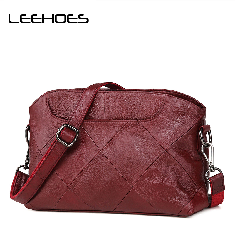 2018 New Brand Genuine Leather Bags for Women Shoulder Bag Female Hobos Crossbody Bag Totes Ladies Bolsas Cowhide Handbags цена