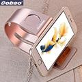 Universal de metal del sostenedor del soporte para la tableta del teléfono de apple reloj 3 en 1 apto para todos los teléfonos inteligentes tableta de buena calidad elegante soporte