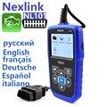 Профессиональный obd2 сканер nexlink nl101 Неисправностей Code Reader автомобилей obd сканирования автомобильной автосканер automovil диагностический elm obd-ii