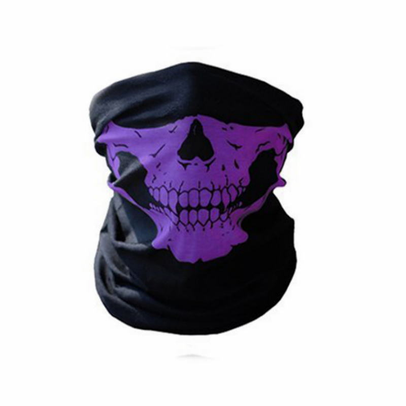 10-1-2-Piece-Motorcycle-SKULL-Ghost-Face-Windproof-Mask-Outdoor-Sports-Warm-Ski-Caps-Bicyle-Bike