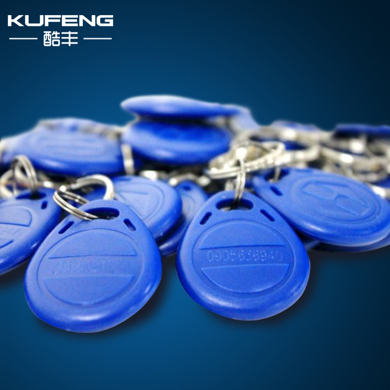 10 RFID Tag Proximity ID Token Key Ring for Access Control 125Khz 125KHZ Card