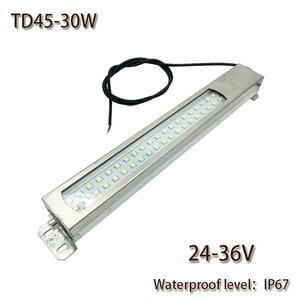 HNTD 30W Led Panel Light 24V DC LED Metal work light CNC machine work tool lighting TD45 Waterproof  IP67 Free shipping