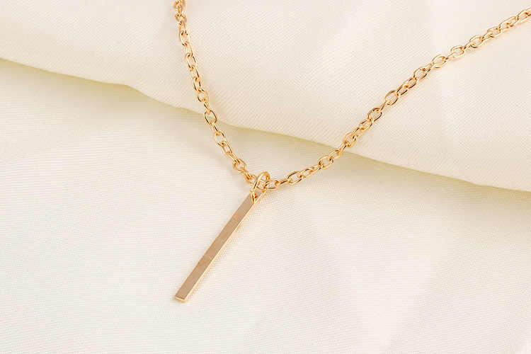 Choker akapity zakontraktowane geometryczny prostokąt metalowy pasek łańcuch pomponem krótki sprzedam jak ciepłe bułeczki kryształy hurtowo naszyjnik