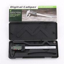 150 мм 6 «Цифровой суппорт Электронный цифровой суппорт микрометр с ЖК-дисплеем измерительный инструмент точность измерения 0,1 мм