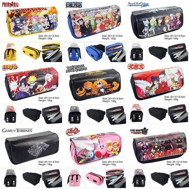 Fairy Tail Sword Art Online One Piece Dragon Ball Travel Bag