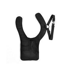 Travel Anti-Theft Safety Hidden Underarm Holster Shoulder Bag Sport Storage Bag For Passport Coin Key Pen Phone Pad недорого