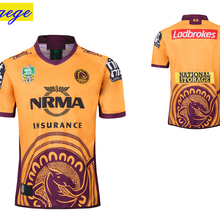831f8ef9859 Yigege nrl jersey 2018 brisbane broncos home away INDIGENOUS rugby Jerseys  shirts NRL National Rugby League