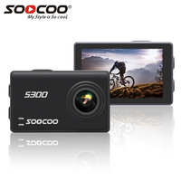 SOOCOO на S300 действие Камера 2,35 touch lcd Hi3559V100 + IMX377 4 К 30fps 1080 P 120fps EIS Wi Fi 12MP удаленный внешний микрофон Спорт cam