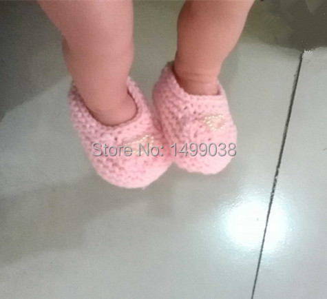 2 pair shoes a lot Best Quality 0-12M Toddler Baby kids Shoes Handmade Weave Wool Cartoon Infant Crochet children girl Shoes ...