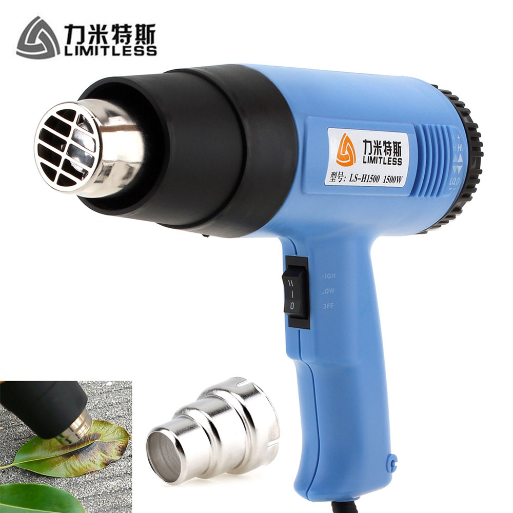 все цены на AC 110V 220V 1500W Electric Heat Gun Adjustable Air Volume Handheld Hot Air Gun for Stripping Shrink Wrapping EU US Plug