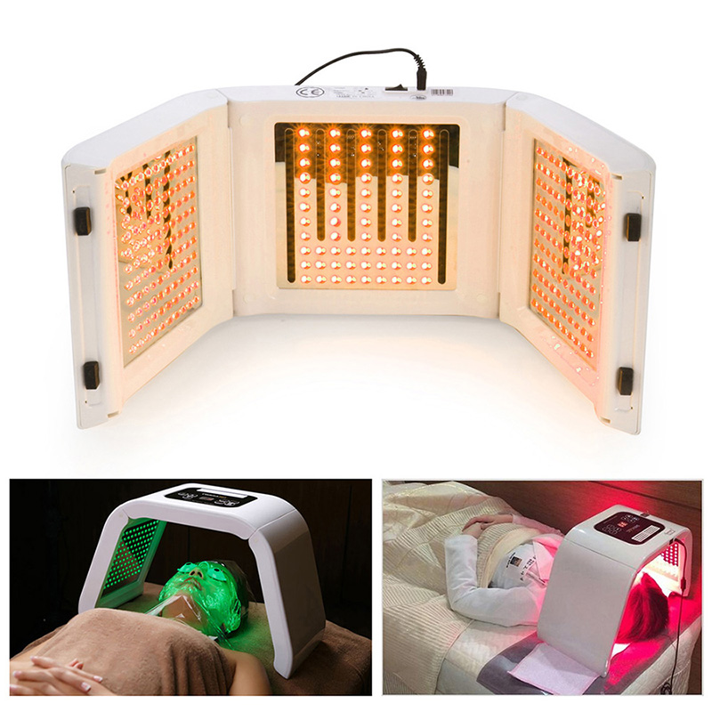 2016 New 4 Color LED Facial Mask Photon Skin Care Beauty Machine SPA PDT Therapy Skin Rejuvenation Acne Remover Anti-wrinkle bio wave pdt led photon light therapy face lifting skin tightening acne wrinkle remover skin care machine led beauty device