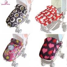 Reposapiés para cochecito de bebé, protector de pie Universal, impermeable, suave, antideslizante, grueso y cálido, accesorios para cochecito