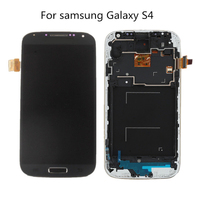 100 New LCD Display With Frame For Samsung Galaxy S4 SIV GT I9500 I9505 I9515 Lcd