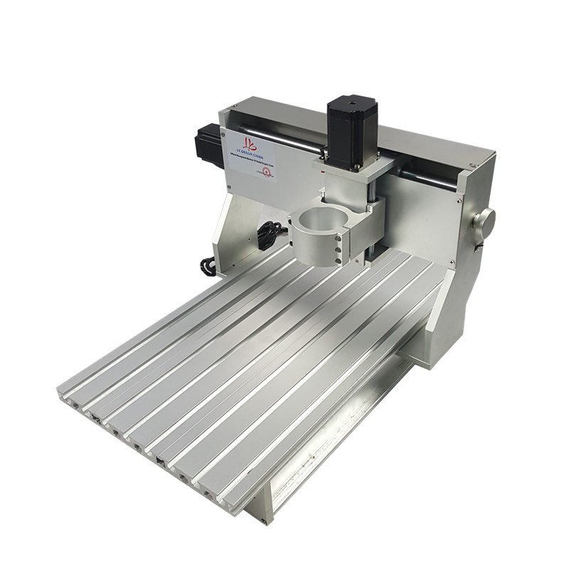 <font><b>60</b></font>*<font><b>40</b></font> 3 axis DIY metal mini <font><b>cnc</b></font> router frame 6040 PCB engraving machine parts with limit switch motor <font><b>cnc</b></font> machine frame image