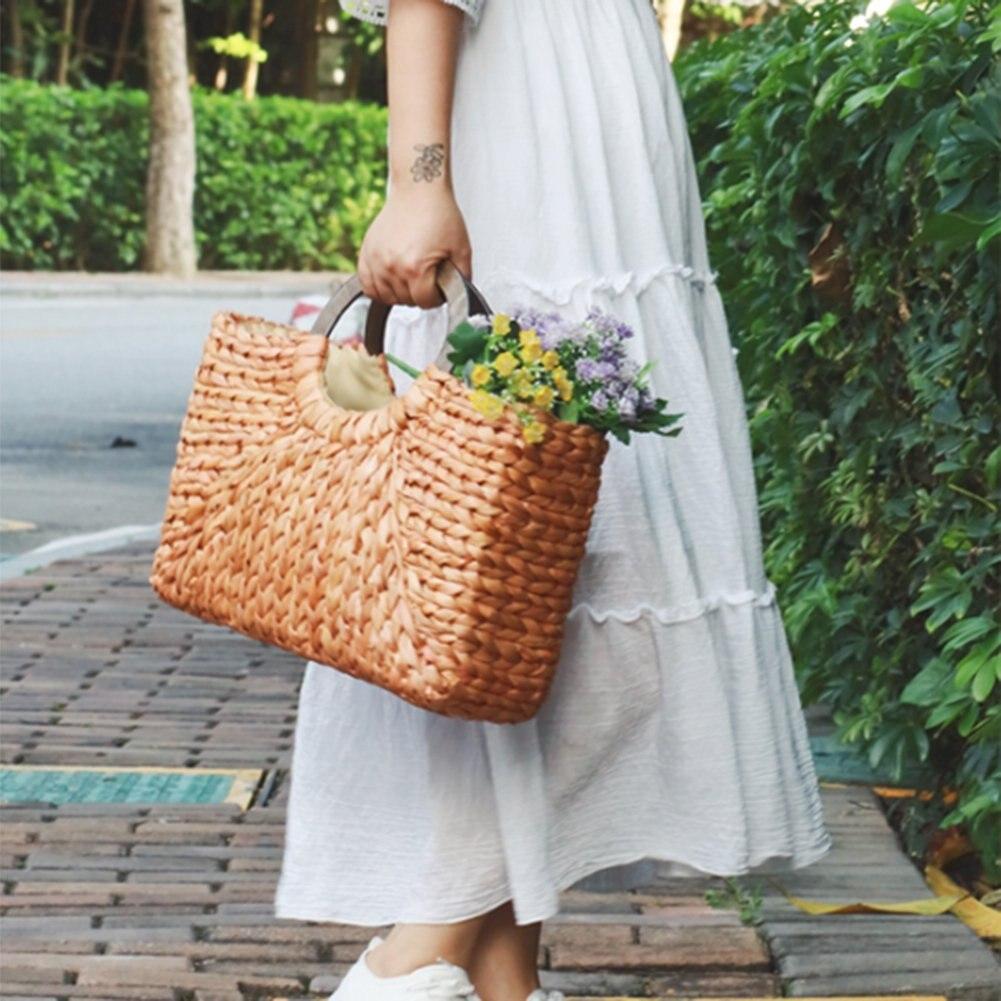 Di Shopping Satchel Straw Bag Icon body Colore Modo Tote donne primario Primary Borsa Viaggio Cross Tracolla Color Spiaggia w5Bq5gC