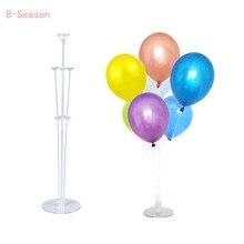 8-Season Table Ballon Accessories Holder Stand Balloon Sealing Clamp Stick 1st Birthday Decorations Wedding Decor