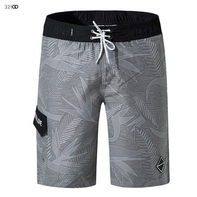 New Style Men 39 s Swimming Trunks Beach Shorts With Pockets Summer Male Athletic Running Gym Shorts Brief Mesh Liner Board Shorts in Surfing amp Beach Shorts from Sports amp Entertainment