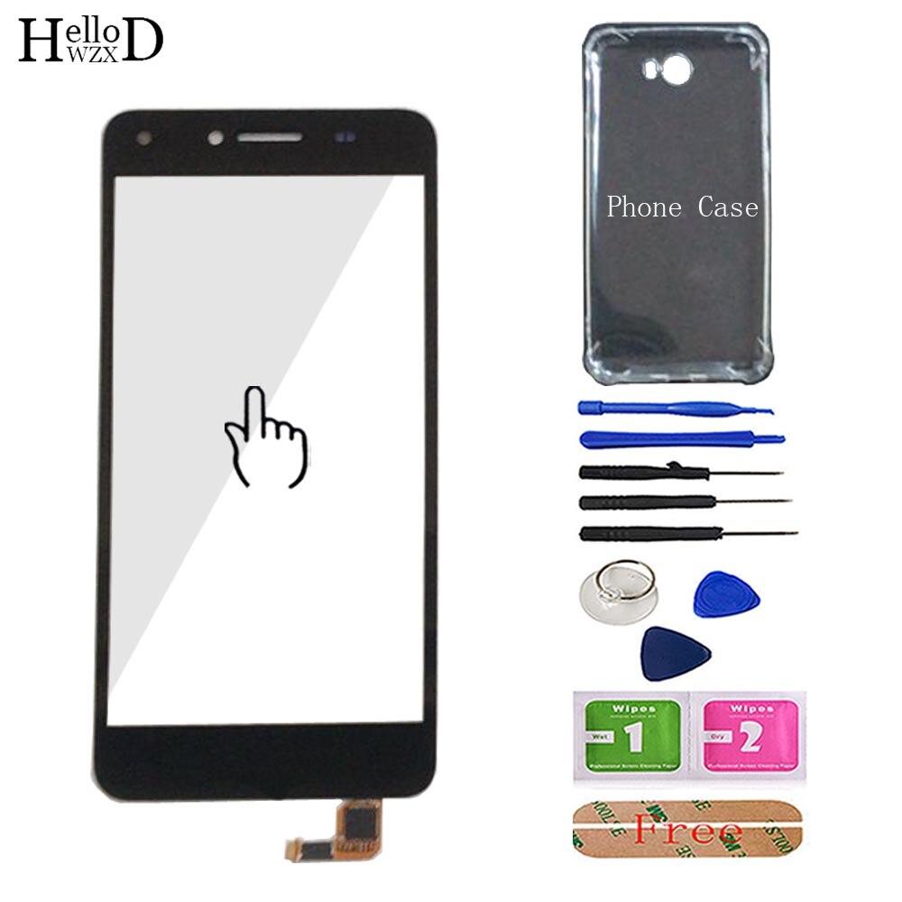 Mobile Touchscreen For Huawei Y5 II 2 Y5II CUN-L01 LYO-L21 CUN-U29 Touch Screen Digitizer Front Glass Sensor Free Phone Case