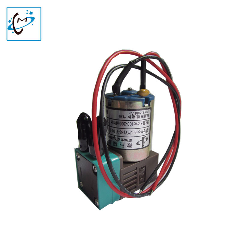 5 unid/lote zhongye humano allwin impresora de inyección de tinta al aire libre 3 W JYY pequeña bomba de tinta 100-200 ml mico draphragm bomba
