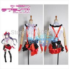 Free Shipping Love Live Nozomi Tojo Dage Wear Cosplay Shirts, skirts, tie, belt, glove, stockings, leggings, Headdress