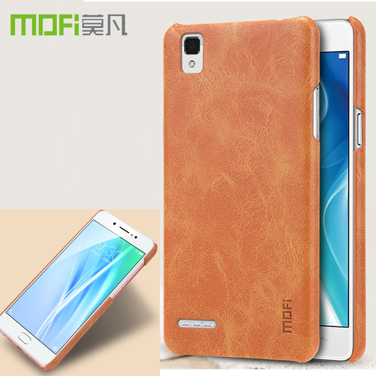 Good Value Mofi Luxury Vintage Pu Leather Phone Case For Oppo F1 A35