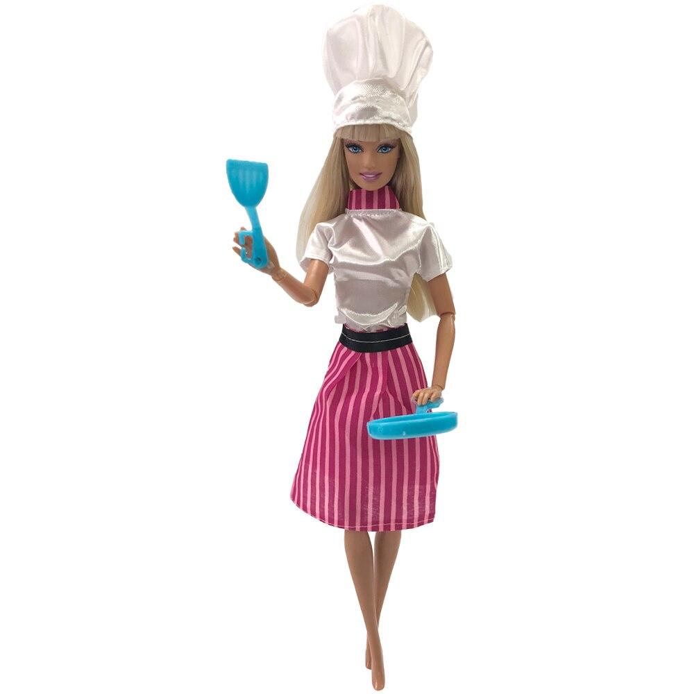 Nk 7 Item Set Bermain Anak Anak Rumah Memasak Mainan Boneka Aksesoris Buatan Tangan Boneka Plastik Peralatan Dapur Untuk Barbie Boneka Hadiah Boneka Aliexpress
