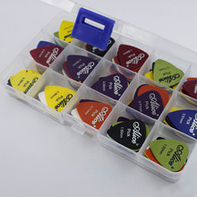 24/40/50/100 Pcs Gitar Picks 1 Kotak Akustik Listrik Bass Plectrum Mediator Alat Musik ketebalan Mix 0.58-1.5 Mm(China)