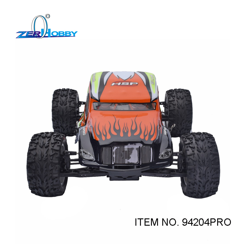 HSP RC RACING CAR BREAKER 1/10 SCALE PROFESSIONAL BRUSHLESS 4WD OFF ROAD MONSTER SAND RAIL TRUCK (ITEM NO. 94204PRO) 02023 clutch bell double gears 19t 24t for rc hsp 1 10th 4wd on road off road car truck silver