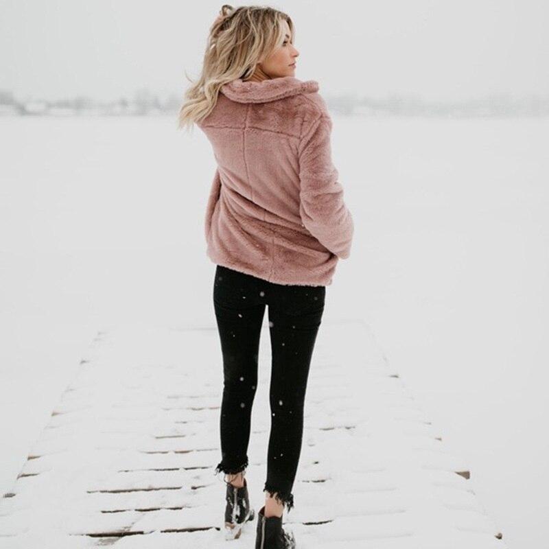 TEMOFON Fleece Cardigan Sweater Women Female Warm Cotton Sweater Veste  Femme Pockets Fashion Coat Long Kimono Cardigan EDR78-in Cardigans from  Women s ... 2037965ef