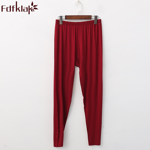 XL XXL 3XL 4XL 5XL Plus Size Women's Trousers Home Pants Modal Pajama Pants For Women Spring Autumn Sleeping Pants Bottom Q306