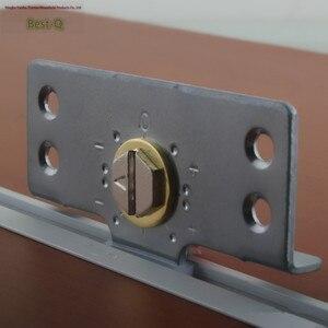 Image 4 - משלוח חינם גלגלת דלת דלת דלת ריהוט ארון בגדים ארונות להחליק נושא הזזה דלת הזזה אביזרים עם הי מתכוונן
