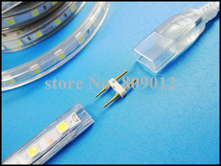 110 В/120 В для США Канада Мексика Японии и т. д. водонепроницаемые IP65 SMD 5050 Гибкие светодиодные полосы 60 LED/м с вилкой Бесплатная доставка